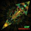 """Reincarnation 2 - Psychedelic UV-Reactive Canopy - Petal Design - """"Leaf"""""""