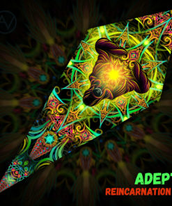 Reincarnation 2 - Psychedelic UV-Reactive Canopy - Petal Design -