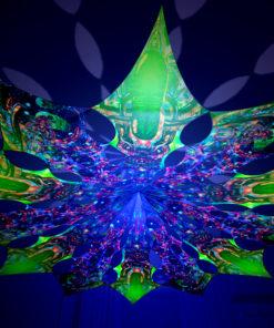 Alien Enlightenment - Trippy Alien & Psychedelic Exoskeleton Design - UV-Reactive Canopy