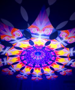 Frozen Corals - Demon - Psychedelic UV-Reactive Canopy - 12 Petals Set