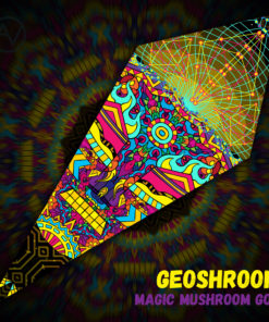 Magic Mushroom God - Ceiling Decoration - Petal Design - Geoshroom