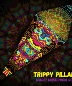 Magic Mushroom God - Ceiling Decoration - Petal Design - Trippy Pillar