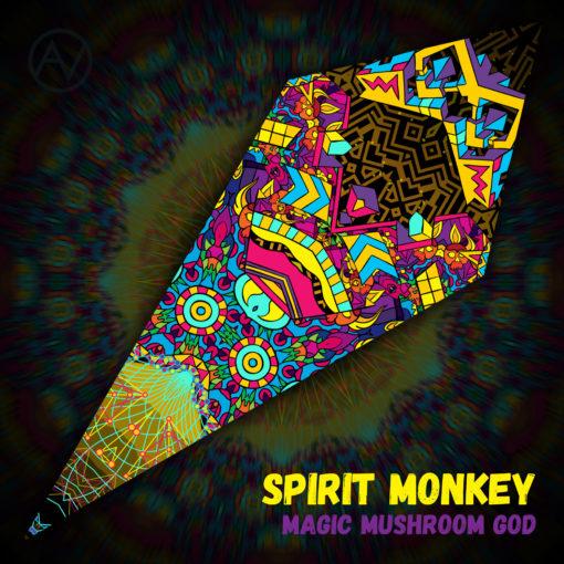 Magic Mushroom God - Ceiling Decoration - Petal Design - Spirit Monkey