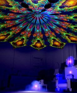 Adept - Reincarnation 2 Psychedelic UV-Reactive Canopy 12 Petals