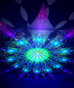 Enlightenment - Geometry Galaxy - Psychedelic UV-Reactive Canopy