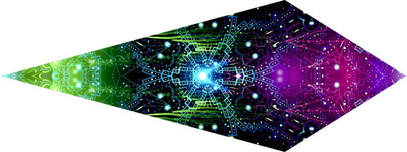 Enlightenment - Geometry Galaxy - Single Petal Design