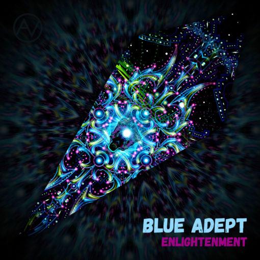 Enlightenment - Ceiling Decoration - Petal Design - Blue Adept