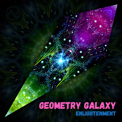 Enlightenment - Ceiling Decoration - Petal Design - Geometry Galaxy