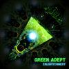 Enlightenment - Ceiling Decoration - Petal Design - Green Adept