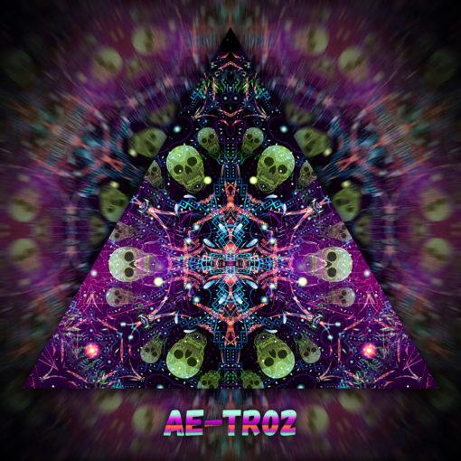 Alien Enlightenment - Triangle Design - TR02 - UV-Print on Stretchable Lycra