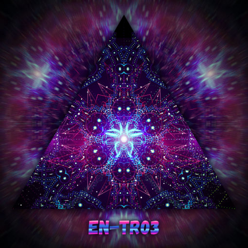 Enlightenment - Triangle Design - TR03 - UV-Print on Stretchable Lycra