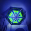 Enlightenment - 6 Triangles Pack - Psychedelic UV-Reactive Canopy Part - 3D preview