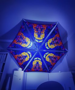 Epic Underwater Kingdom - 6 Triangles Pack - Psychedelic UV-Reactive Canopy Part - 3D preview