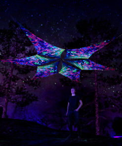 Psychedelic Exoskeleton - UV-Reactive Canopy - 6 Petals