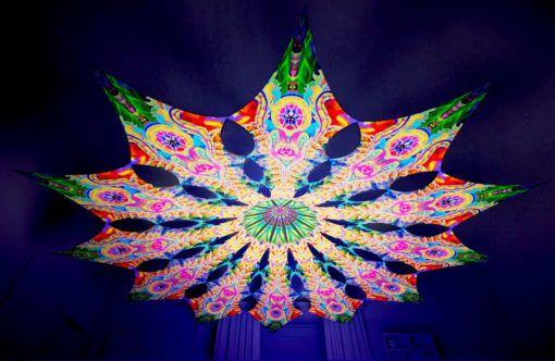 Barong Psychedelic UV-Reactive Canopy - 12 petals set - DMT-Fish