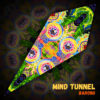 """Barong - Psychedelic UV-Reactive Canopy - Petal Design - """"Mind Tunnel"""""""