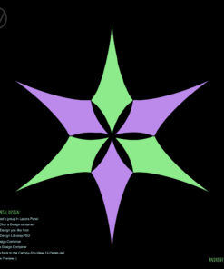 UV-Canopy Layout Preview Generator - 2 Designs x3 Petals