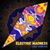 """Lord Ganesha - Psychedelic UV-Reactive Canopy - Petal Design - """"Electric Madness"""""""