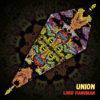 "Lord Hanuman - Psychedelic UV-Reactive Canopy - Petal Design - ""Union"""