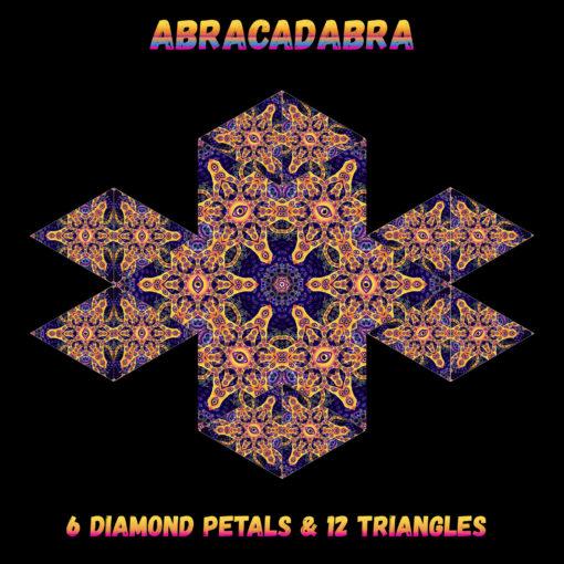 Abracadabra - Diamonds&Triangles - Layout #2