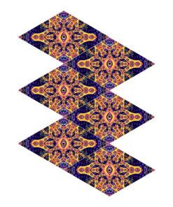Abracadabra - 6-Diamonds UV-Canopy Set - Layout #6