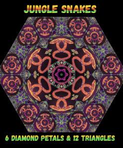 Jungle Snakes - Diamonds&Triangles - Layout #4