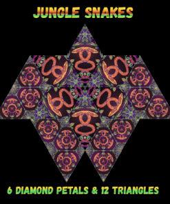Jungle Snakes - Diamonds&Triangles - Layout #3