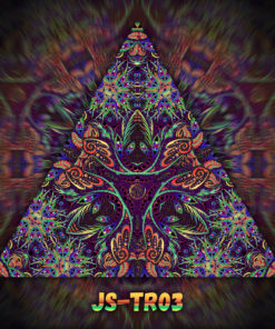 Jungle Snakes - Triangle Design - TR03 - UV-Print on Stretchable Lycra