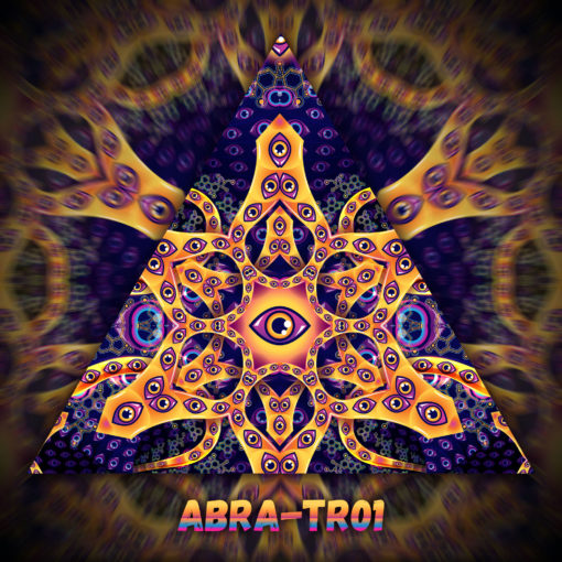 Abracadabra - Triangle Design - TR01 - UV-Print on Stretchable Lycra