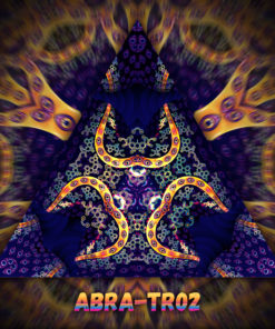 Abracadabra - Triangle Design - TR02 - UV-Print on Stretchable Lycra