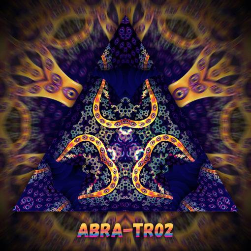 Abracadabra - Triangle Design - TR02 - UV-Print on Stretchable Lycra