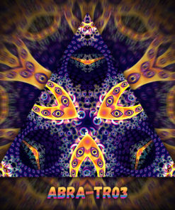 Abracadabra - Triangle Design - TR03 - UV-Print on Stretchable Lycra