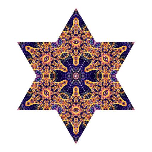 Abracadabra - 6-Diamonds Hexagram UV-Canopy Set - Layout #1
