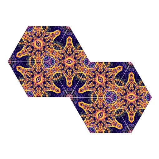 Abracadabra - 6-Diamonds UV-Canopy Set - Layout #2