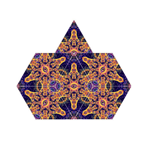 Abracadabra - 6-Diamonds UV-Canopy Set - Layout #3