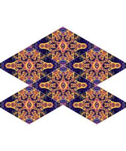 Abracadabra - 6-Diamonds UV-Canopy Set - Layout #4