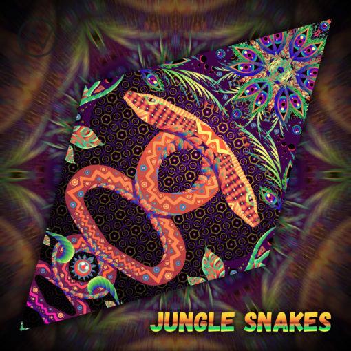 Jungle Snakes - Diamond Petal Design