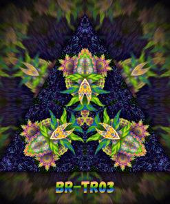 Barong - Triangle Design - TR03 - UV-Print on Stretchable Lycra