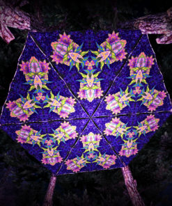 Barong UV-Triangles - TR03 - 6 Pieces - UV-Reactive Psychedelic Party Decoration - 3D Preview