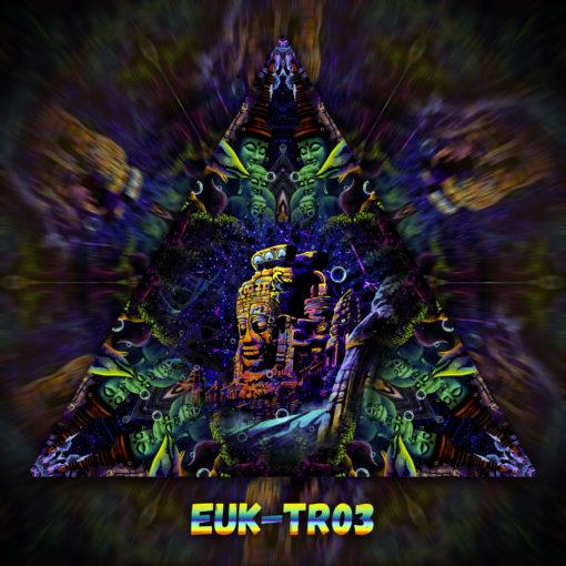 Epic Underwater Kingdom - Triangle Design - TR03 - UV-Print on Stretchable Lycra