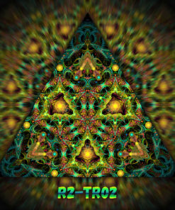 Reincarnation 2 - Triangle Design - TR02 - UV-Print on Stretchable Lycra