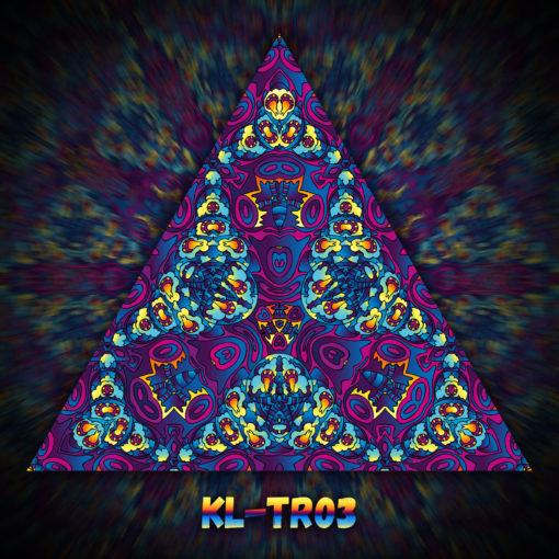 Kali in Acidland - Triangle Design - TR03 - UV-Print on Stretchable Lycra
