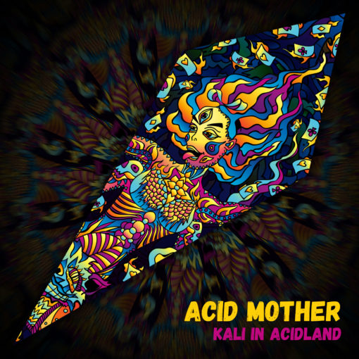 Acid Mother - Psychedelic UV-Reactive Ceiling Decoration Canopy - Design Preview
