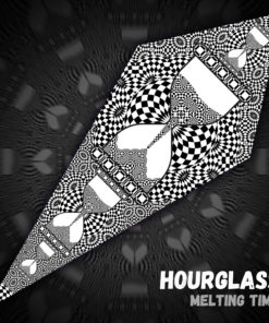 HourGlass - Psychedelic Black&White Ceiling Decoration Canopy - Design Preview