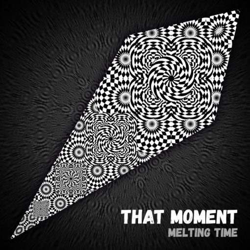 That Moment - Psychedelic Black&White Ceiling Decoration Canopy - Design Preview