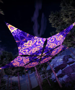 Abracadabra - Hexagram DM03 - Psychedelic UV-Canopy - 3D-Preview