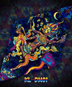 Kali in Acidland - DM01 - UV-Diamond - Design Preview